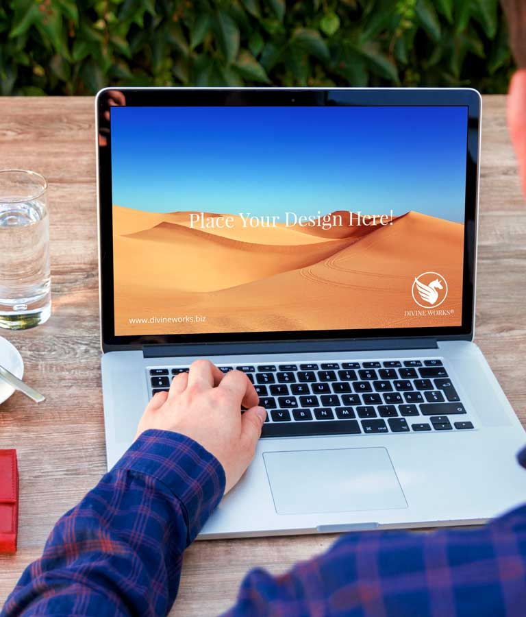 Download Free Apple Macbook Pro PSD Mockup by Divine Works
