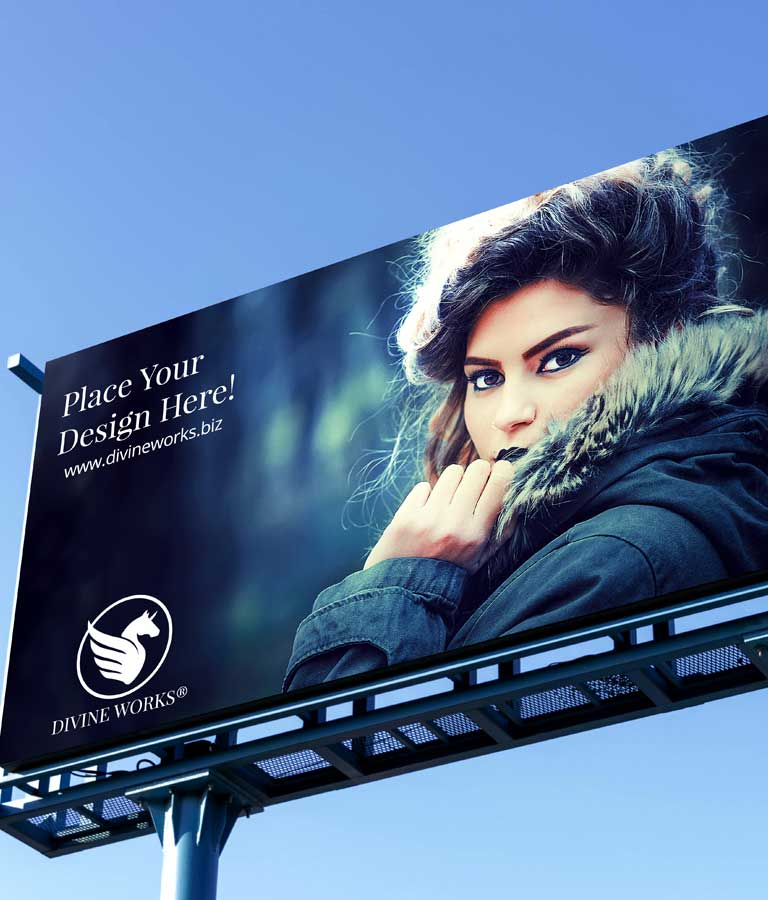 Download Free Billboard Advertising Mockup by Divine Works