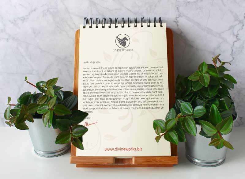 Download Free Clipboard Letterhead Mockup by DIvine Works
