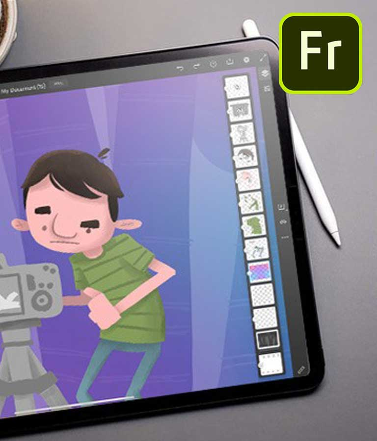 Drawing and Painting in Adobe Fresco