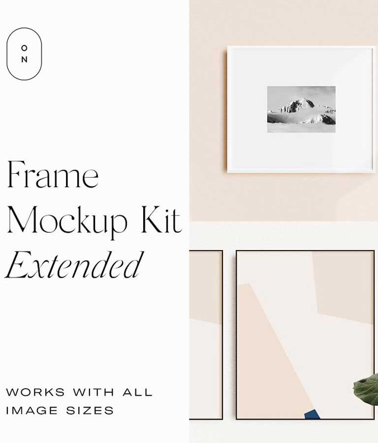 Frame Mockup Kit Extended