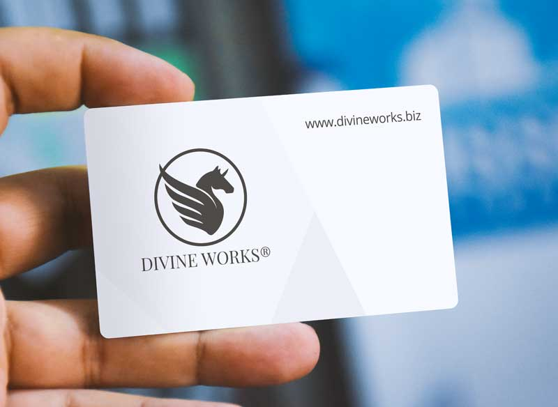Download Free Hand Holding Business Card Mockup by Divine Works