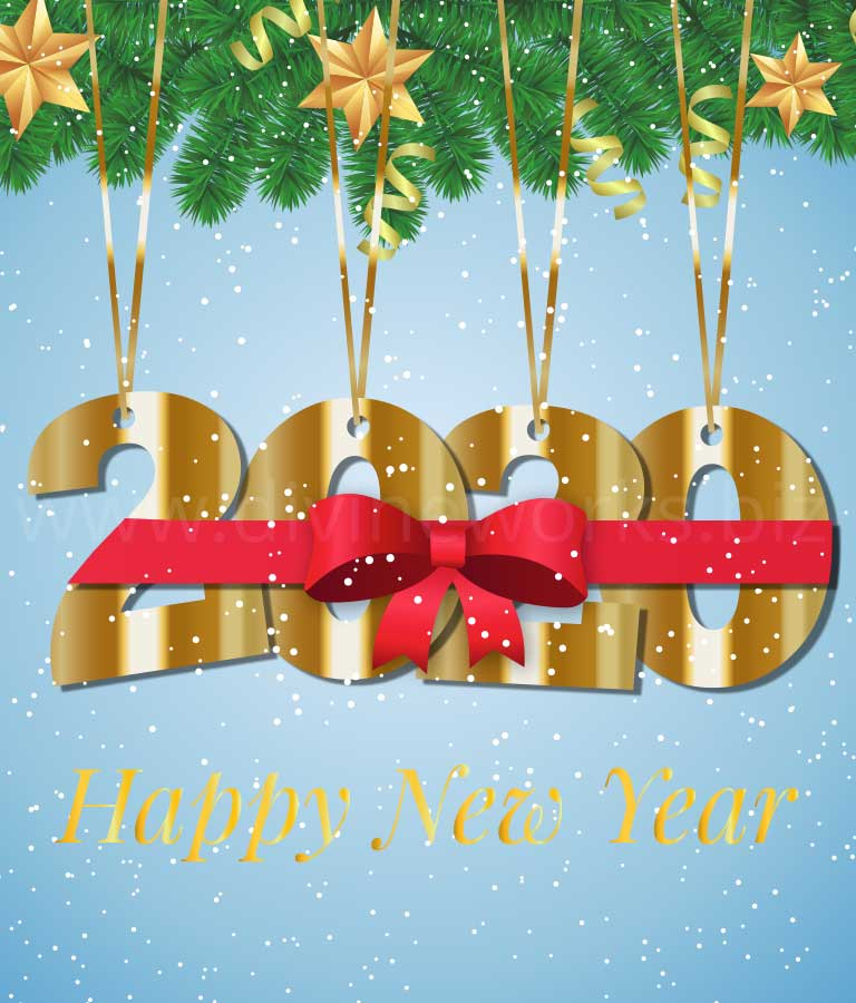Download Free Happy New Year Vector Art by Divine Works