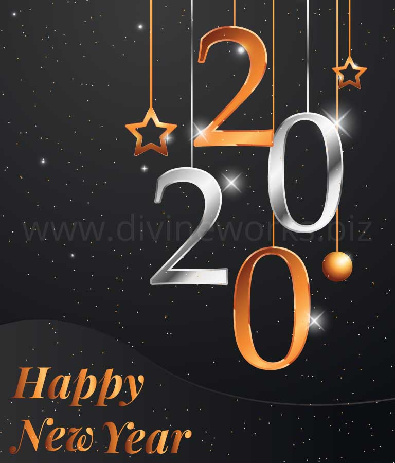 Download Free New Year Vector Illustration by Divine Works