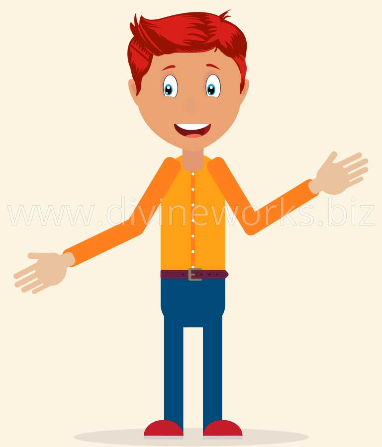 Download Free Free Vector Boy Character by Divine Works