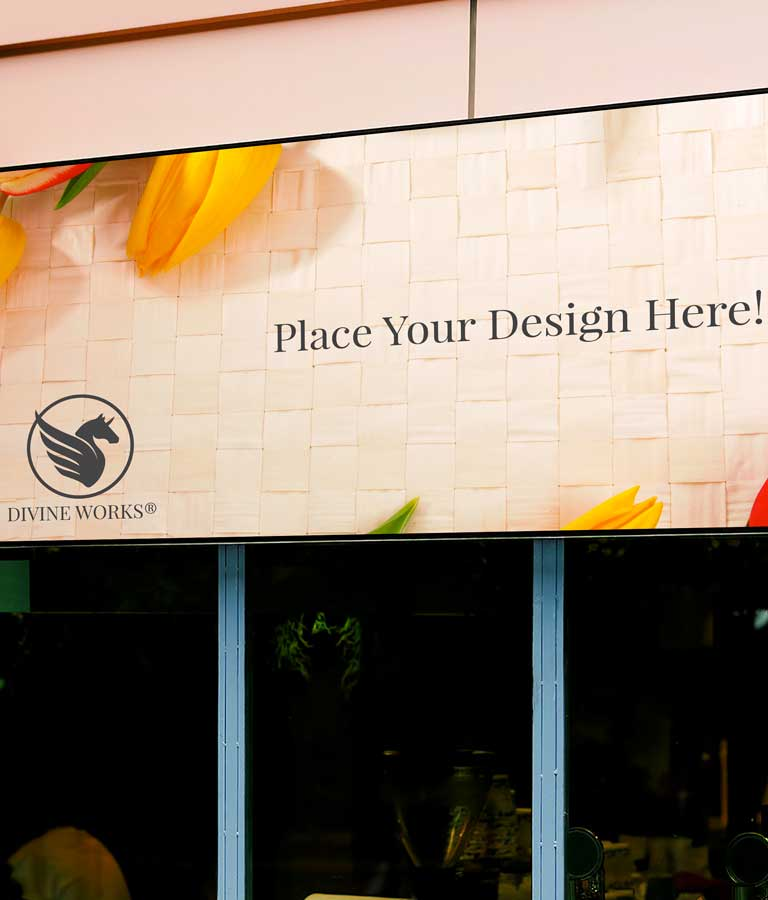 Download Free Front Store Signage Mockup by Divine Works