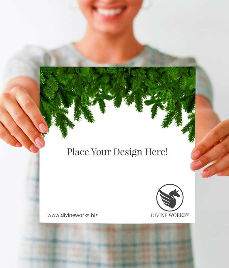 Download Free Hand Holding Greeting Card Mockup by Divine Works