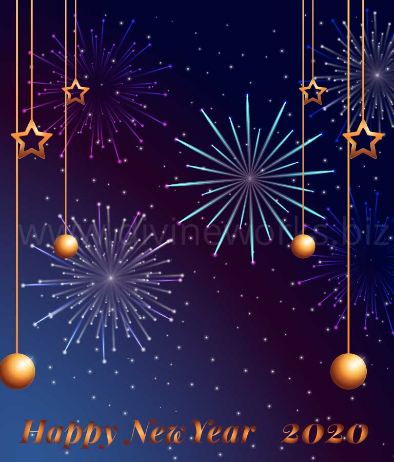 Download Free Happy New Year Illustration by Divine Works