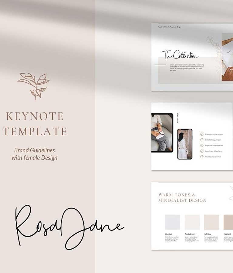 RosaJane Keynote Brand Guidelines