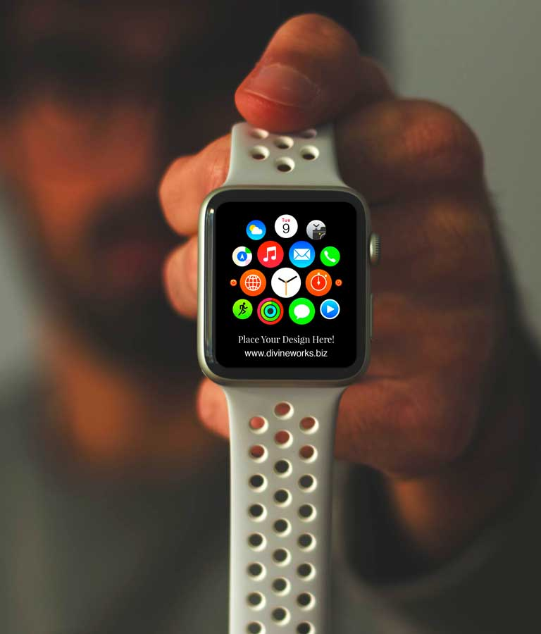 Download Free Apple Watch Mockup by Divine Works