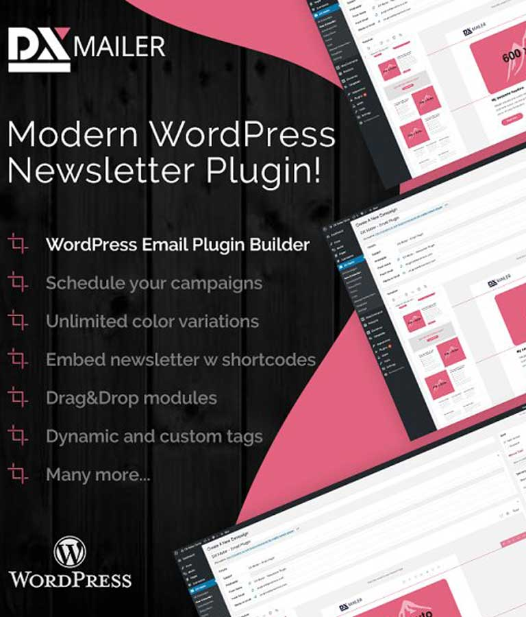 DXMailer WordPress Newsletter Plugin