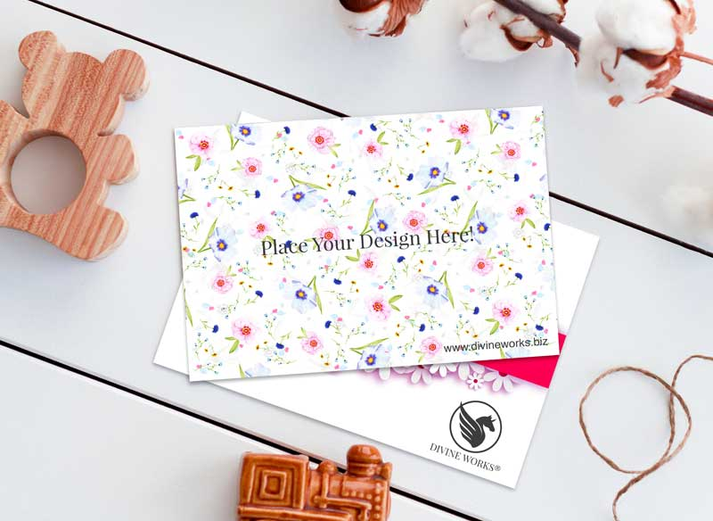 Download Free Greeting Cards Mockup by Divine Works