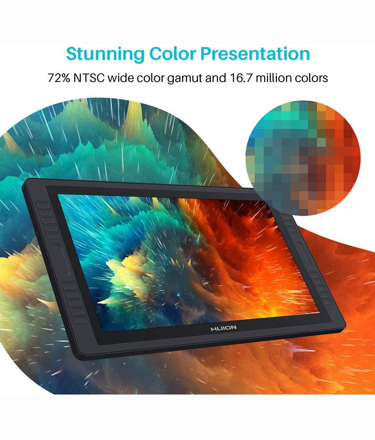Huion Kamvas GT-221 Pro Pen Display Drawing Tablet Monitor