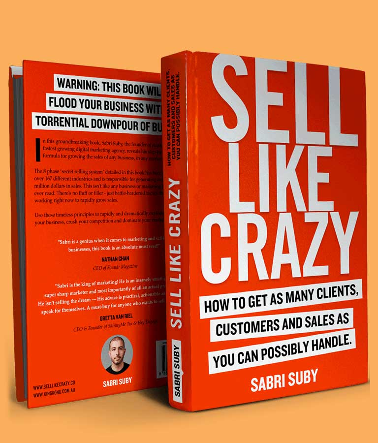 How To Sell Like Crazy - Amazon Book