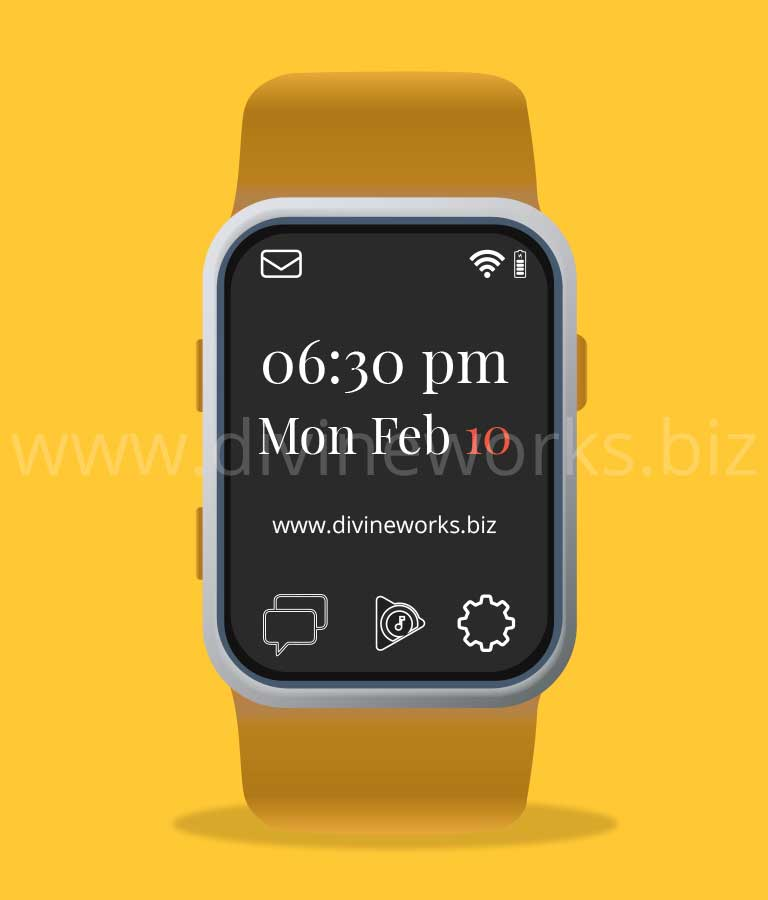 Download Free Smart Watch Vector Art by Divine Works