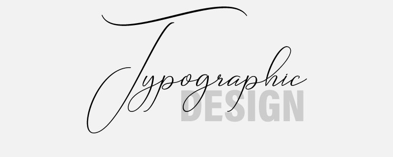 Design Element Typographic