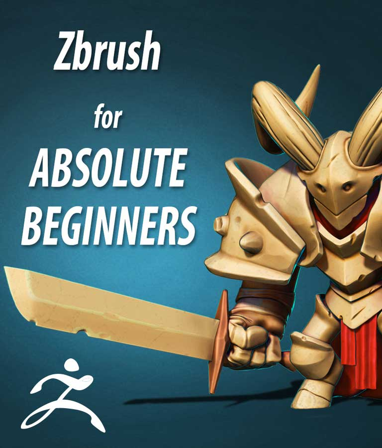 Absolute Beginners Zbrush Course