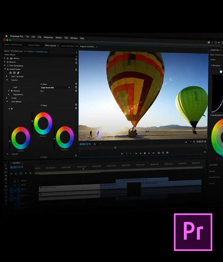Video Editing with Adobe Premiere Pro