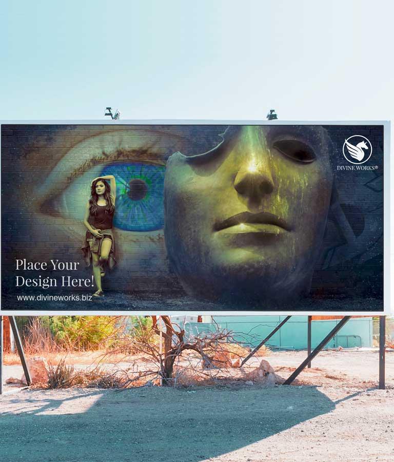 Download Free Billboard Free Mockup by Divine Works