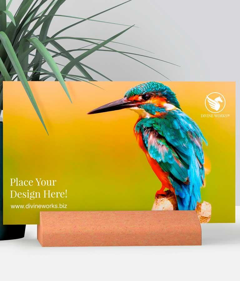 Download Free Docked Greeting Card Mockup by Divine Works