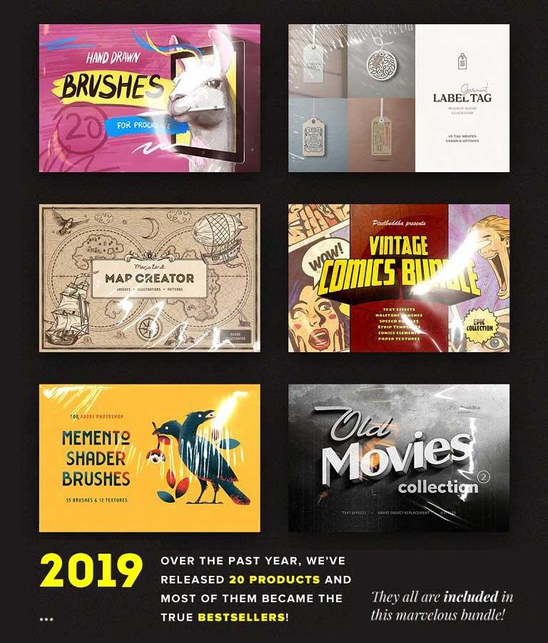 The Entire Shop Bundle 2019