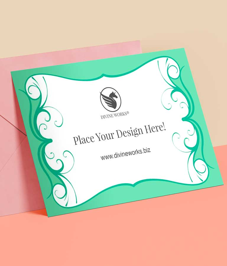 Download Free Invitation Card Mockup by Divine Works
