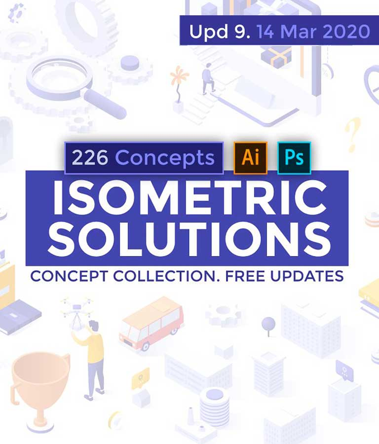 Isometric Solutions.U-9(226 Items)