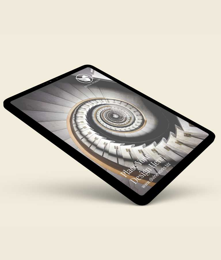 Download Free Isometric Tablet Mockup by Divine Works