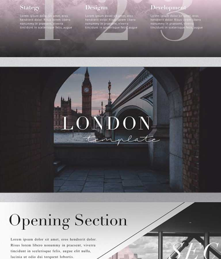LONDON Keynote Template