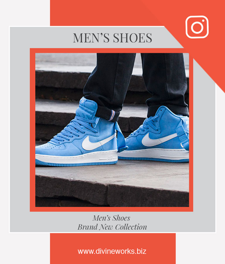 Download Free Men's Shoes Instagram Post Template by Divine Works