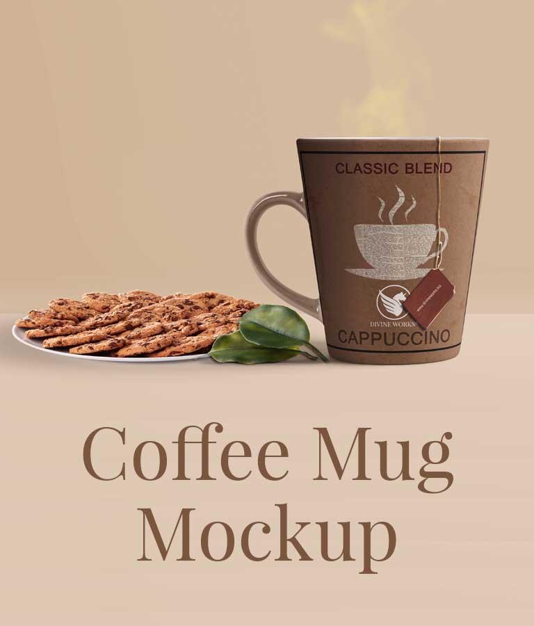 Download Free Mockup Mug PSD by Divine Works
