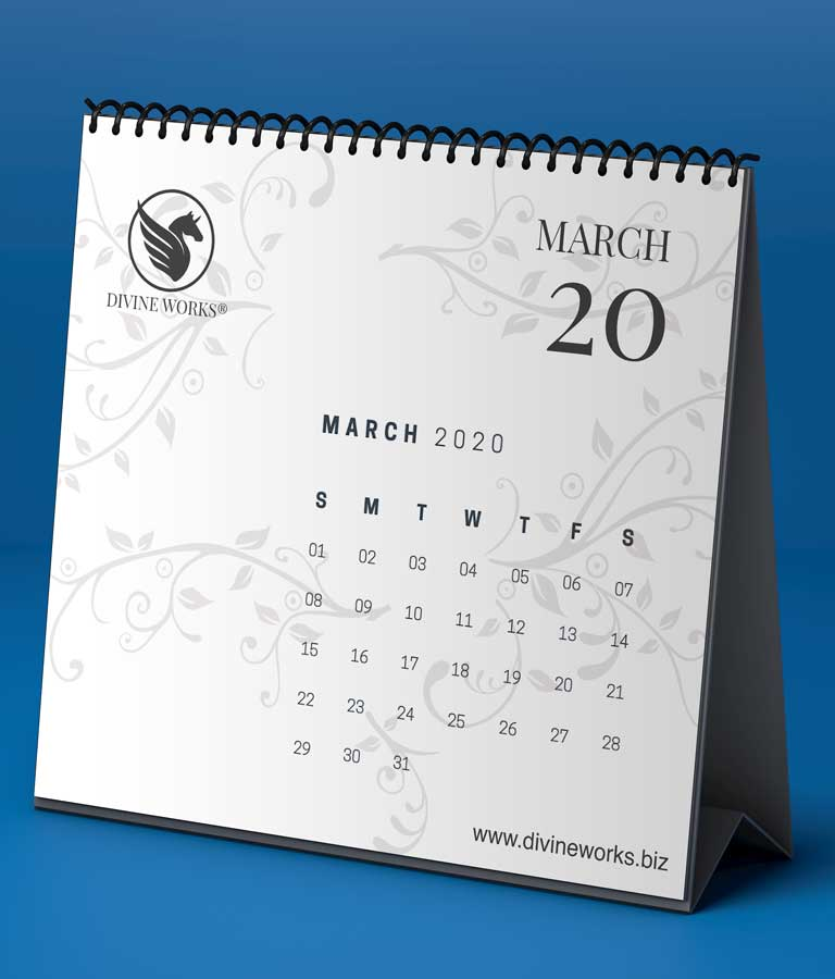 Download Free Month Calendar Mockup by Divine Works