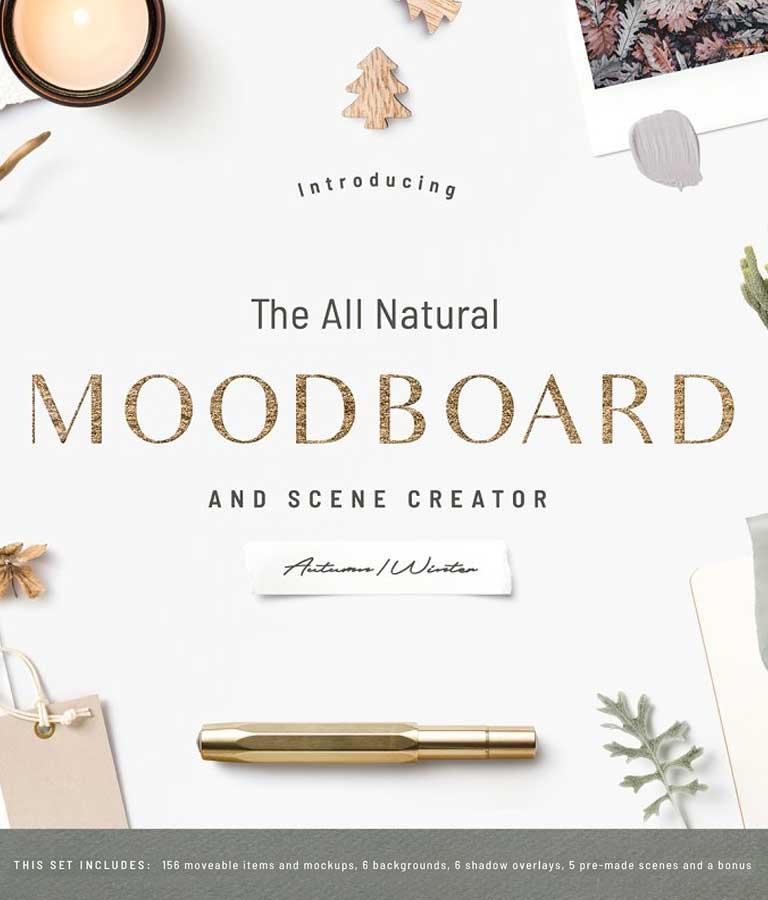 NEW! The Natural Moodboard Creator
