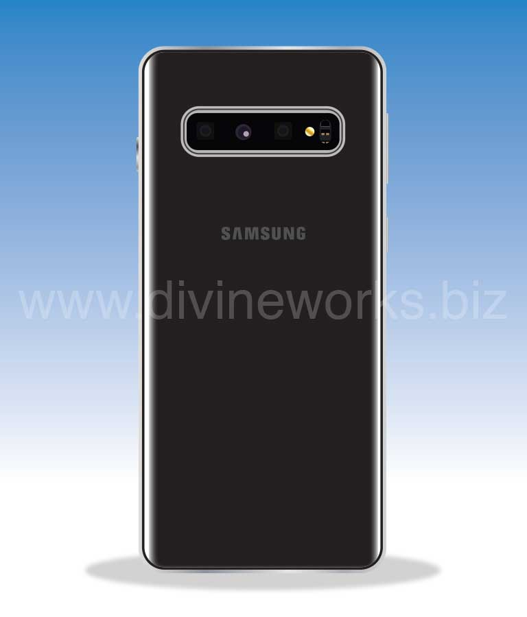 Download Free Samsung Galaxy S10 Plus Back Vector by Divine Works