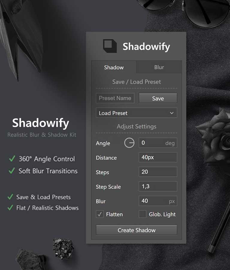 Shadowify Blur & Shadow Kit