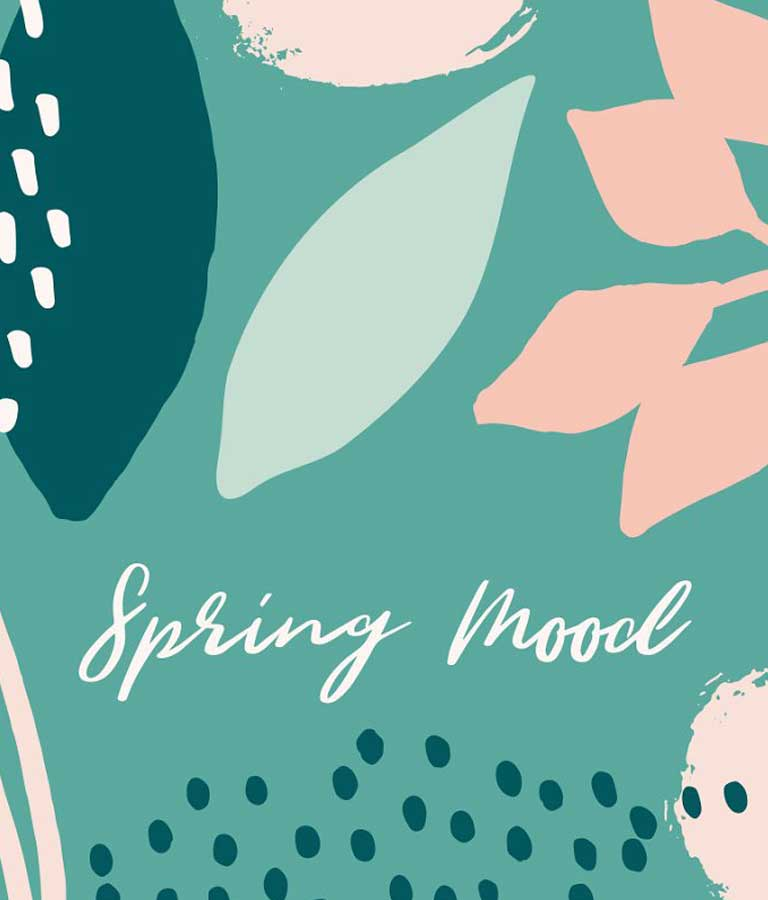 Spring Mood | Patterns + Elements