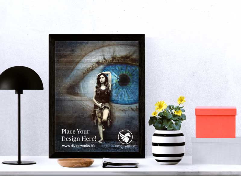 Download Free Urban Poster Mockup by Divine Works