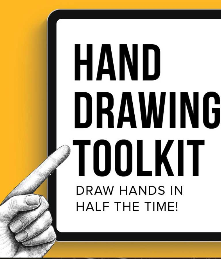 Hand Drawing Toolkit Brushes For Procreate
