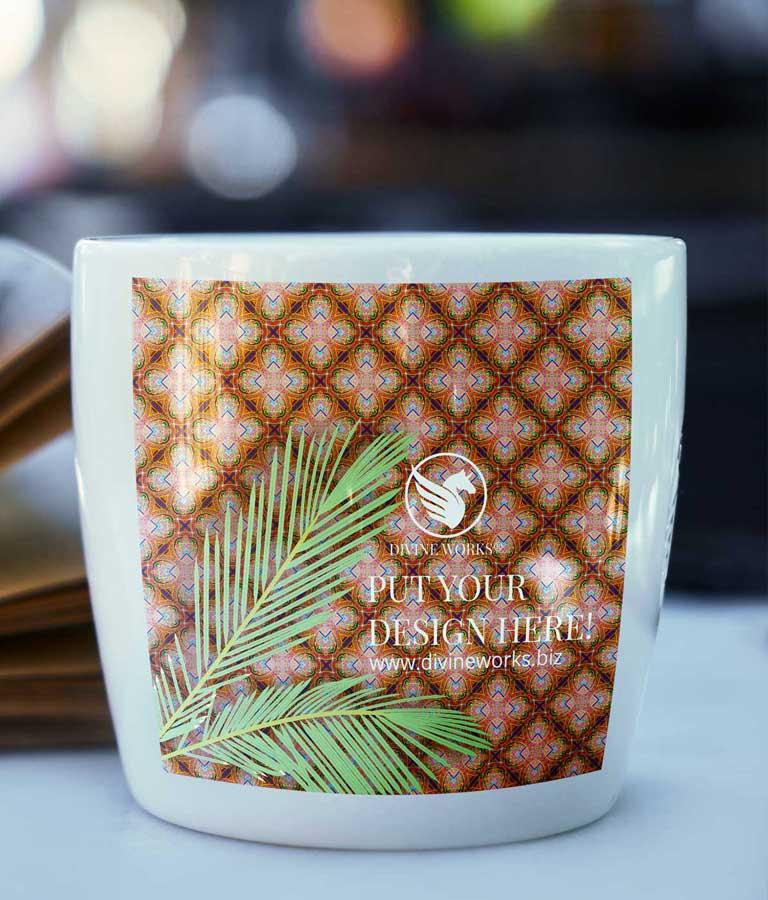 Cup Mockup Free PSD