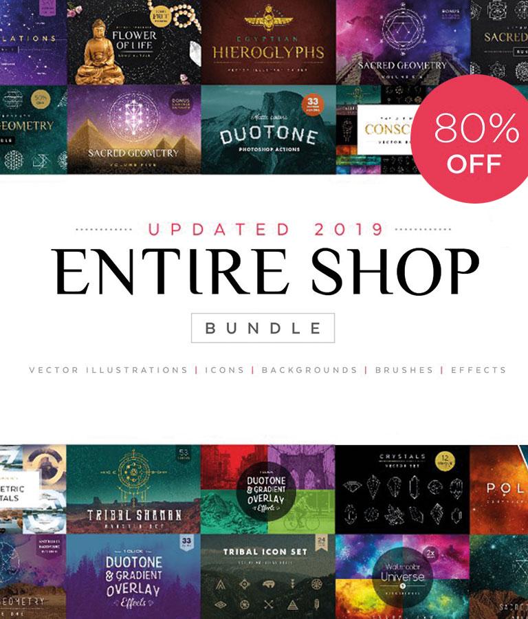 2019 Entire Shop Bundle!