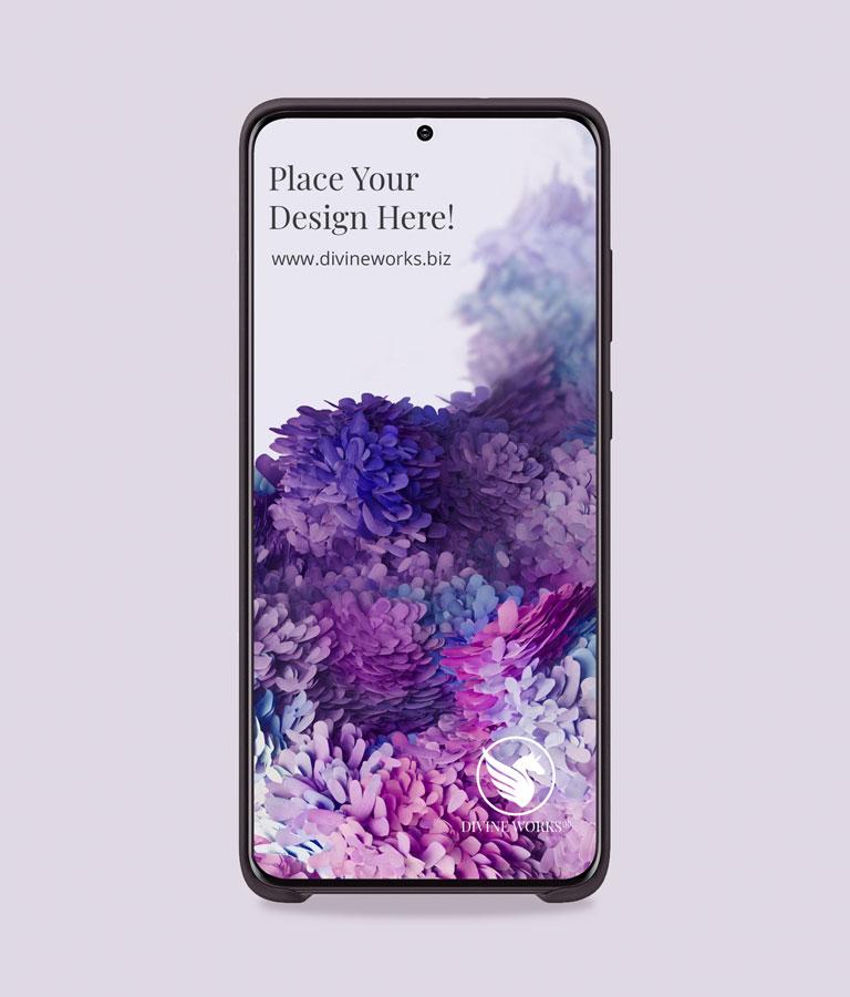 Download Free Samsung S20 Mockup by Divine Works