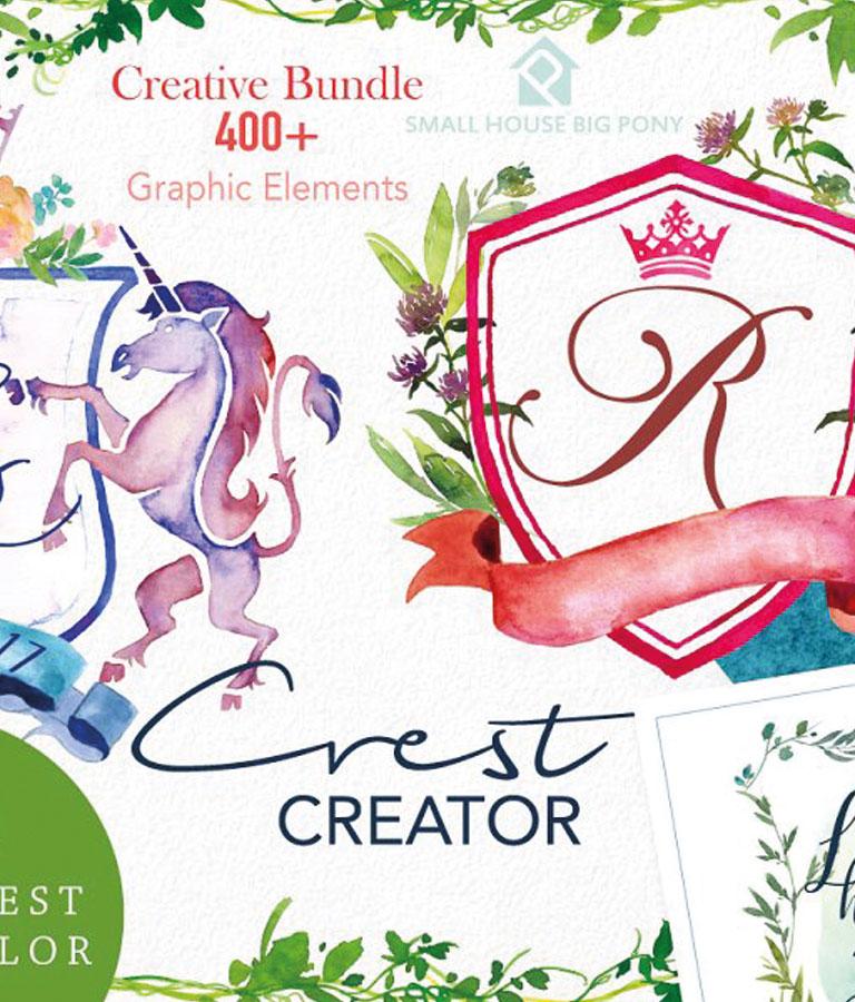 Crest Creator Creative Bundle Set