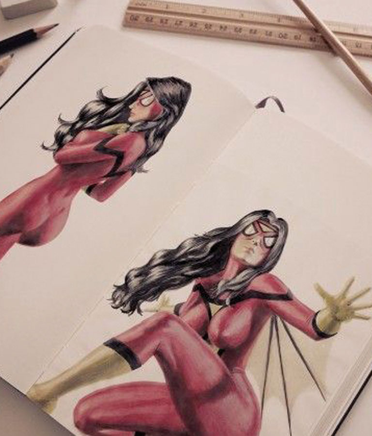 Discover How to Draw and paint Comics