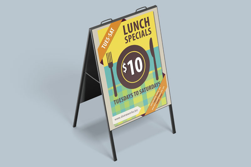 Download Free Display Stand Mockup by Divine Works