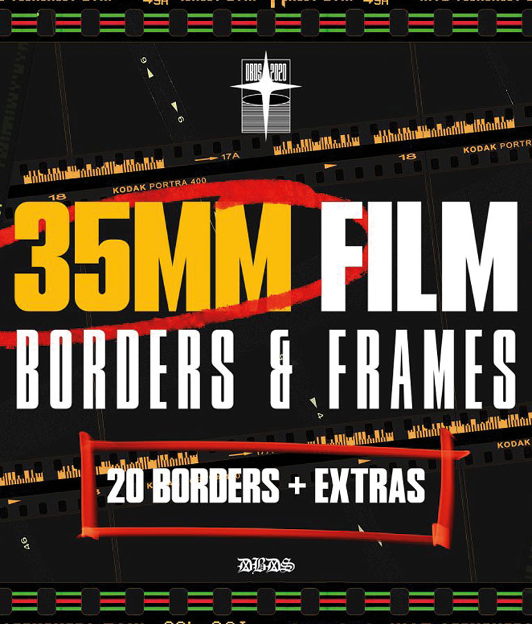 35mm Film Borders & Frames