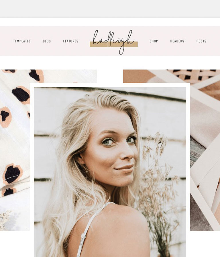 Hadleigh A Blog & Shop Theme