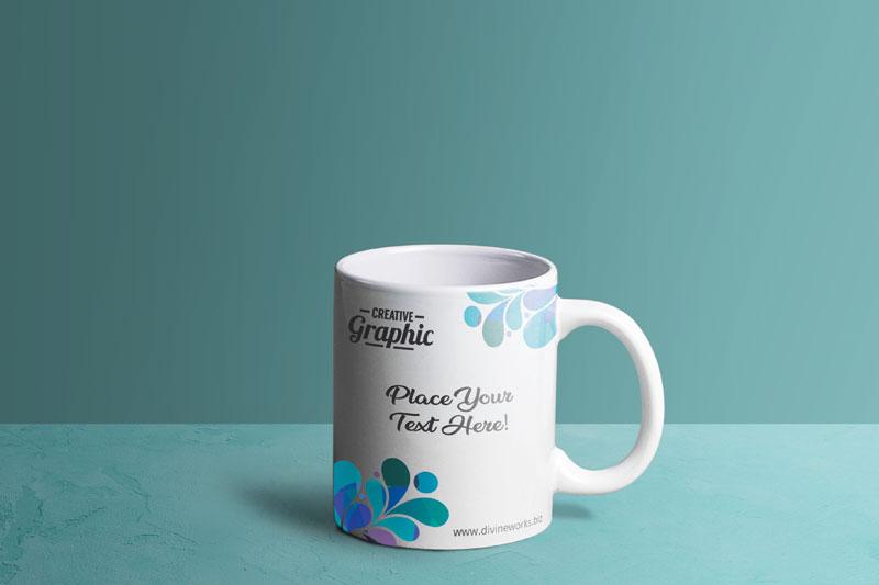 Download Free Mug PSD Mockup by Divine Works