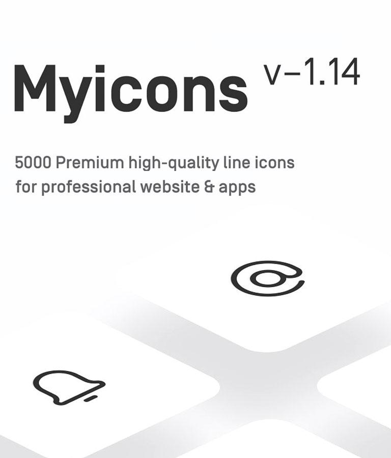 Myicons - Premium Vector line Icons