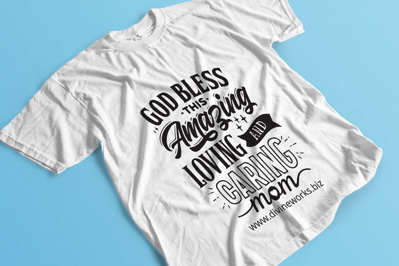 Download Free T-Shirt PSD Mockup by Divine Works