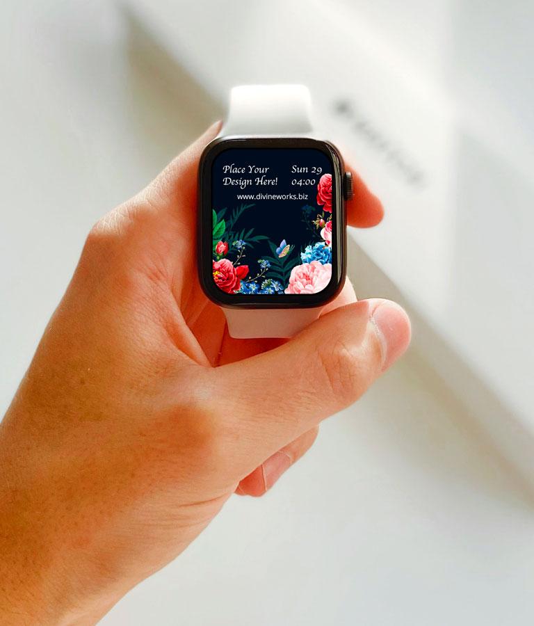 Free Apple Watch PSD Mockup